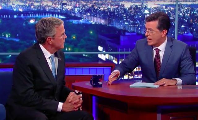 Stephen Colbert Premiere Bush.jpg