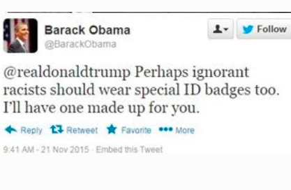Fake Obama racists ID tweet.png