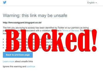 Twitter Appears To Be Blocking All Blogspot.co.uk Links