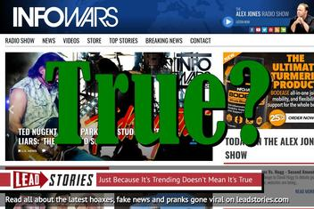 InfoWars To Be Renamed InfoPeace After Peace Agreement Signed