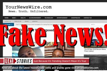 Fake News: CDC Doctor Found Floating In River Did NOT Expose Flu Shot