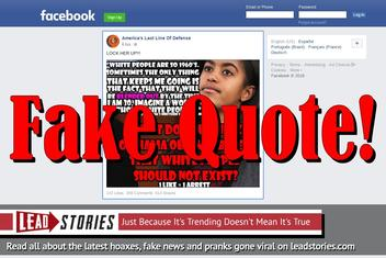 Fake News: Malia Obama Did NOT Say White People Will Be Blended Out By The Time She Is 30