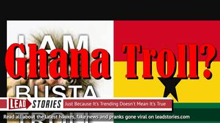 Newest Site From 'Ghana' Fake News Network Copies Christopher Blair's Footer