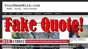 """Fake News: Obama Did NOT Say """"I Fully Support Seizure Of White Farmers' Land In South Africa"""""""