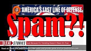 UPDATE: Now Restored - Christopher Blair's Satirical Fake News Website America's Last Line of Defense Blocked For Spamming By Facebook
