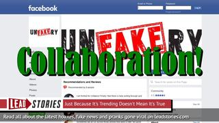 Lead Stories and Unfakery Announce Collaboration In Fight Against Fake News
