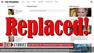 Fake ABC News Website Taken Down After DMCA Complaint -- Already Replaced One Day Later By New Fake News Site