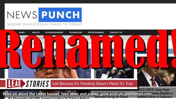 Fake News Website YourNewsWire Renamed NewsPunch (Again) -- Possibly To Avoid Filters