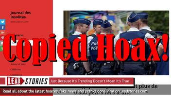 Fake News: Belgian Police Did NOT Seize 3000 Penises During Search of Morgue Employee Home