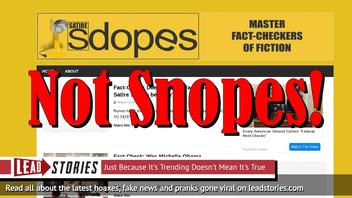 Christopher Blair Launches New Snopes & DeadState Parody Sites