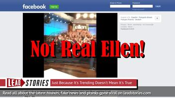 Fake News: Ellen DeGeneres NOT Giving Away Gift Cards, Cash, Car or Home To People Liking & Sharing Facebook Post