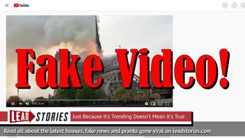 Fake Video: Muslims Did NOT Scream 'Allahu Akbar' At Burning Of Notre Dame