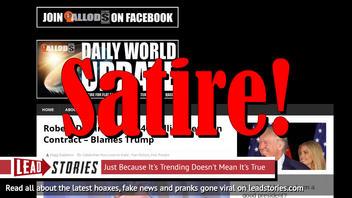 Fake News: Robert DeNiro Did NOT Lose $40 Million Reunion Contract, Did NOT Blame Trump