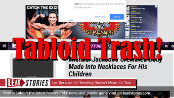 Fake News: Michael Jackson's Body NOT Cremated & NOT Made Into Necklaces