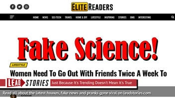 Fake News: Women Do NOT Need To Go Out With Friends Twice A Week To Stay Healthy