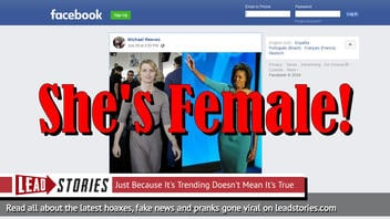 Fake News: Photo Does NOT Show Michelle Obama With A Penis