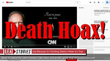 Fake News: Clint Eastwood is NOT Dead