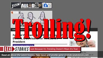 Fake News: Federal Warrants NOT Issued For Kathy Griffin, DeNiro, & Streisand