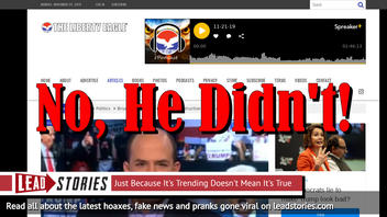 Fake News: Brian Stelter Did NOT Say Trump Is A Destructive Cult Leader