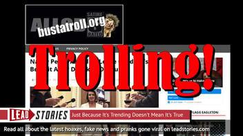 Fake News: Nancy Pelosi NOT Asked To Leave Children's Benefit After Drunken Outburst