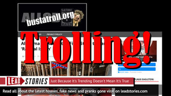 Fake News: Alabama Did NOT Become the First State to Ban 'Radical Islam'