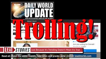 Fake News: Whoopi Goldberg Did NOT Call Melania's Decorations: 'Fairly Racist'