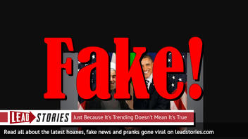 Fake News: Photo Does Not Show U.S. President Obama Shaking Hands With Iranian President Rouhani