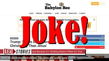 """Fake News: Trump Did NOT Say """"I Have Done More For Christianity Than Jesus"""""""