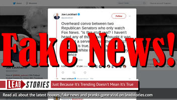 Fake News: Two Republican Senators Did NOT Say 'Is This Stuff Real?' About Impeachment Trial