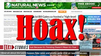 Fake News: Bill Gates Did NOT Help Fund Patent For Coronavirus