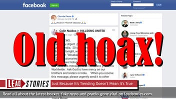 Fake News: 20 Churches NOT Burned And Christian Missionaries NOT Executed In India