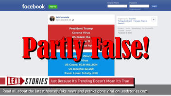 Fact Check: Meme Does NOT Contain Accurate Figures for H1N1 Deaths In The United States