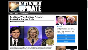 Fact Check: Fox News Did NOT Win Pulitzer Prize for Reporting During Crisis