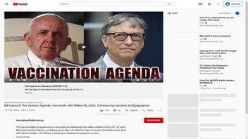 Fact Check: NO Plan By Bill Gates And The Vatican To Depopulate World With Coronavirus Vaccine; Video Misinterprets Gates' Speech