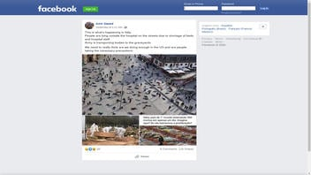 Fact Check: Photos Do NOT Show People Falling Dead Of COVID-19 On Italy's Streets
