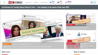 A New Look For Lead Stories