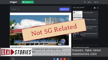 Fact Check: There Is NO Evidence That 5G Is Being Forcibly Installed In Schools