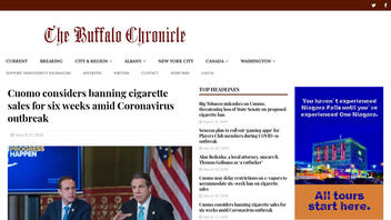 Fact Check: New York Is NOT Banning Cigarette Sales To Combat COVID-19