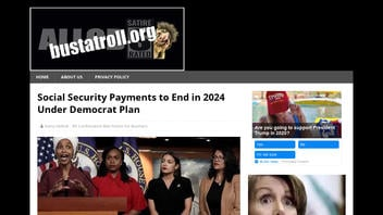 Fact Check: Democrats Have NO Plan To End Social Security Payments In 2024