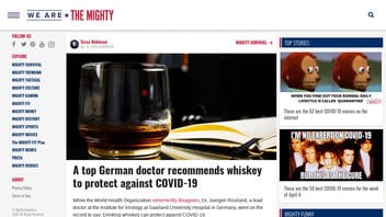 Fact Check: Top German Doctor Did NOT Seriously Recommend Whiskey to Protect Against COVID-19