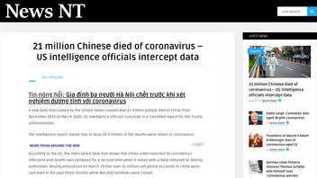 Fact Check: New Data Does NOT Reveal That 21 Million Chinese Died Of Coronavirus