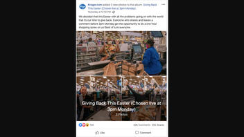 Fact Check: Kroger Did NOT Offer Chance For A Shopping Spree Giveaway Amid COVID-19