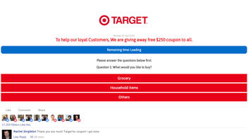 Fact Check: Target Is NOT Giving Away Free $250 Coupons To All
