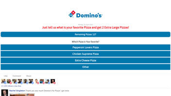 Fact Check: Domino's Is NOT Giving Away 2 Extra Large Pizzas For Answering A Survey