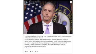 Fact Check: Trey Gowdy Did NOT Go On Rant Claiming Coronavirus Shutdowns Were 'Fishy,' 'Well-Timed' And 'Costing Our Economy Billions'