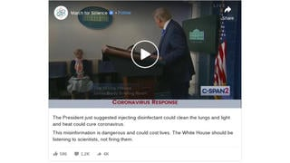 Fact Check: Trump Did NOT Urge People To Inject Disinfectants To Thwart Coronavirus