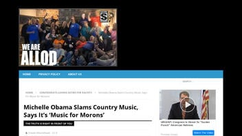 Fact Check: Michelle Obama Did NOT Slam Country Music, Did NOT Say It's 'Music for Morons'