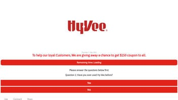 Fact Check: Hy-Vee Did NOT Announce That Everyone Who Shares a Link Will Get a $150 Coupon
