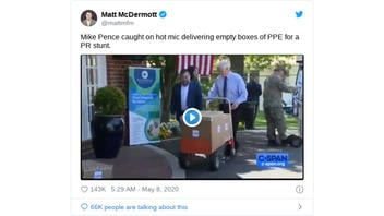 Fact Check: Mike Pence Did Not Deliver Empty Boxes Of PPE To A Hospital As Seen In Jimmy Kimmel Video
