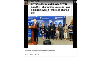 Fact Check: Photo Does NOT Show Pennsylvania Governor Breaking His Own Social Distancing Rules